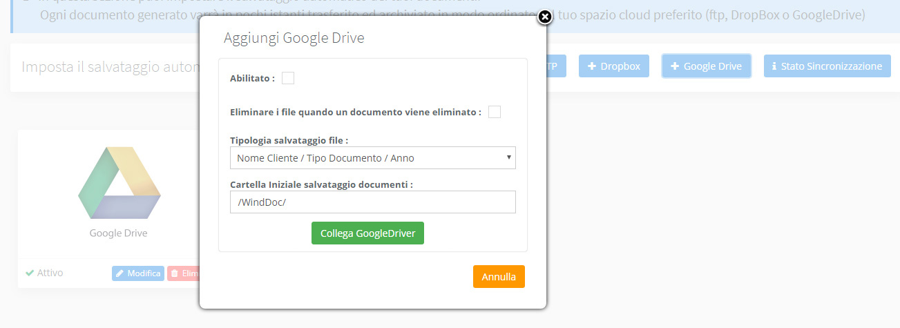 Backup GoogleDrive
