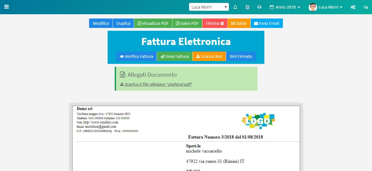 Fattura elettronica - Codice destinatario - Email PEC